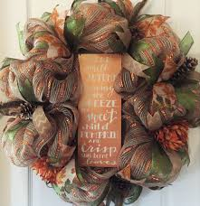 Thanksgiving Deco Mesh Wreaths 51 Best Fall Wreaths Images On Pinterest Autumn Wreaths Fall