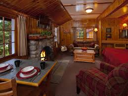 dining room one room cabin plans
