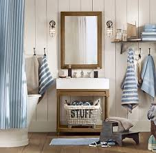 nautical bathroom decor ideas also the cottage by the sea feel and the color scheme still