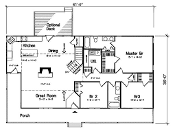 ranch house floor plans floor plan easy garage small project designs feng ranch design