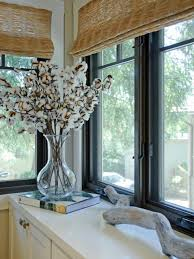 decoration window treatments design glass windows with blinds