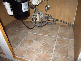 Peel And Stick Kitchen Floor Tiles - adding floor tiles under your kitchen sink home staging in