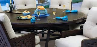 chateau tables castelle luxury outdoor furniture