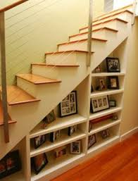 Under Stairs Shelves by 6 U0027 Wide Trilogy Staircase Shelf At Smartfurniture Com Under The