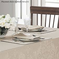celeste tone on tone table linens from waterford linens