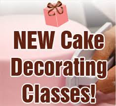 new cake decorating classes fondanting and filling pink cake box