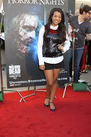 what to wear to halloween horror nights daphne blunt at the annual eyegore awards opening night of