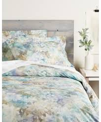 Cynthia Rowley Duvet Cover Whit And Alex Whit And Alex Watercolor Floral Duvet Set Bluefly Com