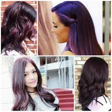 black hairstyles purple chic dark purple hair color ideas haircuts and hairstyles for