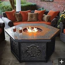 Firepits Gas Outdoor Firepits By Frontgate Style Estate