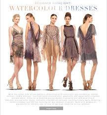max studio max studio designer highlight watercolour dresses milled