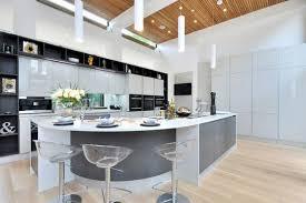 curved kitchen island modern kitchen designs with curved kitchen island