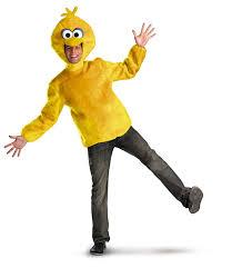 beast halloween costume amazon com disguise unisex male big bird clothing
