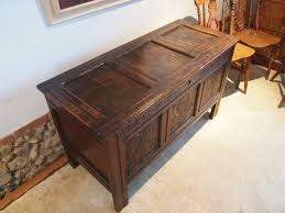 cloverleaf home interiors coffer chest blanket box oak c1700 antiques atlas