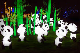 festival of light birmingham magic lantern festival 2016 birmingham botanical gardens
