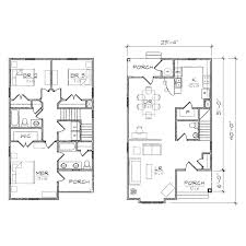 narrow townhouse floor plans interesting small house garage plans photos best idea home