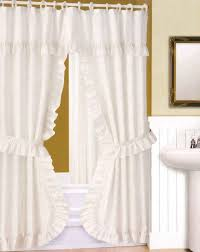 luxurious shower curtains with valance savwi com