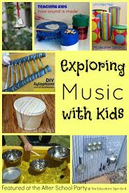 Musical Instruments Crafts For Kids - music ideas for summer fun dancing instruments and musical
