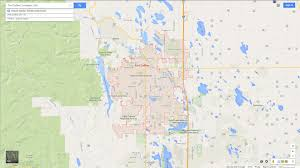 Colorado State University Map by Fort Collins Colorado Map