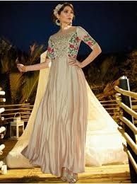 buy designer gowns online at best prices in india partywear