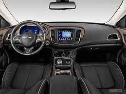 2015 Chrysler 200s Interior 2016 Chrysler 200 Prices Reviews And Pictures U S News U0026 World