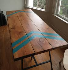 how to build a dining table contemporary brown varnished wooden