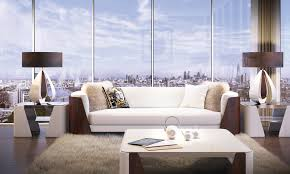 Fashion Home Interiors 50 Storey Aykon Nine Elms To Feature Interiors By Versace Home