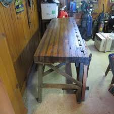 Woodworking Bench For Sale Uk by Antique Workbench Ebay