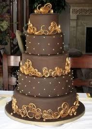 brown cake 38 chocolate brown wedding ideas happywedd the i