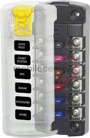 fuse holders and distribution boxes led lights marker truck led