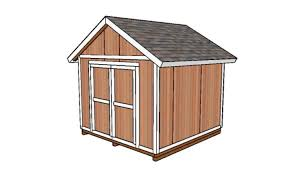 How To Build A Garden Shed Step By Step by 10x10 Shed Plans Diy Step By Step Howtospecialist How To