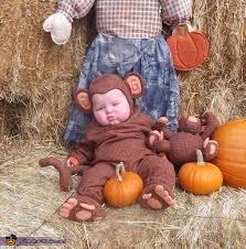 Halloween Monkey Costume Chubby Monkey Baby Halloween Costume