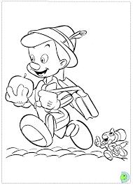 pinocchio coloring dinokids org
