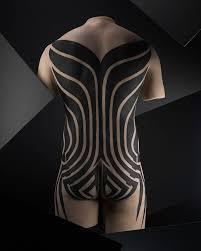tribal torso tattoos tattoo u0027 leaves a permanent mark at the field museum art review