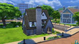 Tudor Style Cottage Beachy Keen Tudor Style Walls Snw Simsnetwork Com