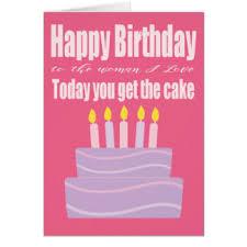 funny birthday for woman greeting cards zazzle com au