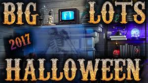 Halloween Ornaments Uk Big Lots Halloween Decor 2017 Youtube