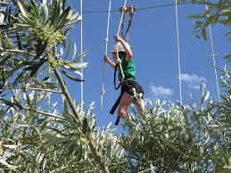 klimmen in klimpark jumpland aventura ecològica net buiten