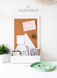 Wall Desk Diy by Diy Desk Organizer Sugar U0026 Cloth