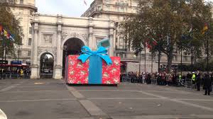 cath kidston giant christmas present activation marble arch