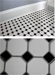 octagon floor tiles black and white sohbetchath com