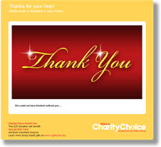 charity choice donation gift cards gifts birthday