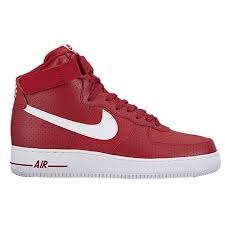 Nike Air Force One Comfort Nike Air Force 1 High Men U0027s Basketball Shoes Gym Red White