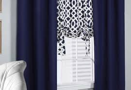 curtains long length curtains amazing blue trellis curtains