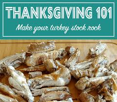 buy a cooked turkey buy and roast turkey necks to create amazing stock for your