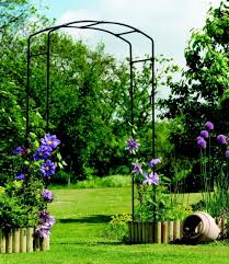 Metal Arbor With Gate Cool Garden Arch Metal Youtube