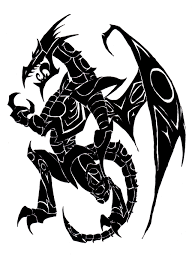 dragon tattoo by what the gaff on deviantart