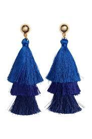 blue earrings earrings jewelry accessories women s clothing h m us