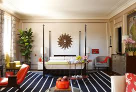 Red White And Black Rug 10 Gorgeous Rooms How To Decorate With Black U0026 White Geometric Rugs