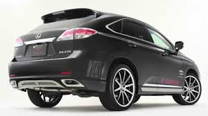 lexus harrier rx 350 price premiere body kit lexus rx byesprit youtube
